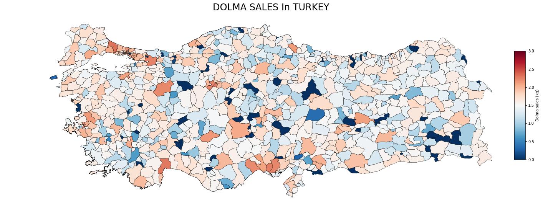 Turkish Dolma Sales